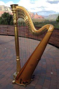 18th Century Harp, a demonstration